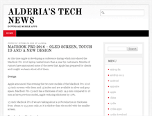 Tablet Preview of alderia.biz
